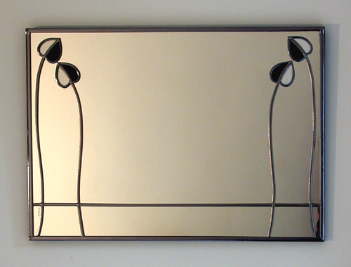 Mantelpiece mirror charles rennie mackintosh
