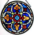 Stained Glass Roundel by Winged Heart